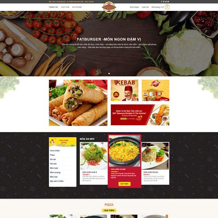 mẫu web nhà hàng 03
