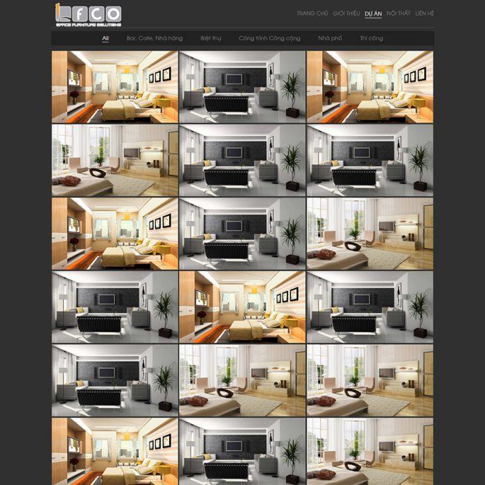 Mẫu web kiến trúc 01